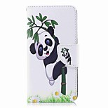cheap -Case For Huawei P9 lite mini P8 Lite (2017) Card Holder Wallet with Stand Flip Pattern Full Body Cases Panda Hard PU Leather for P10 Lite