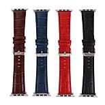 preiswerte -Uhrenarmband für Apple Watch Series 3 / 2 / 1 Apple Lederschlaufe Leder Handschlaufe