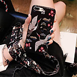 cheap -Case For Apple iPhone X iPhone 7 Plus Pattern Back Cover Animal Soft TPU for iPhone X iPhone 8 Plus iPhone 8 iPhone 7 Plus iPhone 7