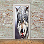 cheap -Animals Wall Stickers 3D Wall Stickers Animal Wall Stickers Decorative Wall Stickers Door Stickers, Vinyl Home Decoration Wall Decal