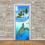 cheap -Animals Nautical Wall Stickers Plane Wall Stickers 3D Wall Stickers Decorative Wall Stickers Photo Stickers Floor Stickers Door Stickers,