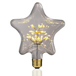 cheap -BRELONG® 1pc 3W 300 lm E26/E27 LED Globe Bulbs 30 leds SMD Starry Decorative Yellow 220-240V