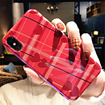 Недорогие -Кейс для Назначение Apple iPhone X iPhone 7 Plus С узором Кейс на заднюю панель С сердцем Мягкий ТПУ для iPhone X iPhone 8 Pluss iPhone 8