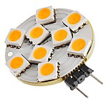 abordables -SENCART 1pc 1.5W 270lm G4 Luces LED de Doble Pin T 9 Cuentas LED SMD 5050 Decorativa Blanco Cálido 12V