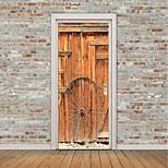 Недорогие -Геометрия 3D Наклейки Простые наклейки 3D наклейки Декоративные наклейки на стены Фото наклейки Напольные наклейки Дверные наклейки, Винил