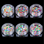 cheap -6 Nail Jewelry Classic Chic & Modern Nail Art Design Nail Glitter Dailywear Classic Chic & Modern Cute Special Design Lustrous Shimmer
