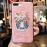 cheap -Case For Apple iPhone 6 Plus iPhone 7 Plus Pattern Back Cover Animal Hard PC for iPhone 8 Plus iPhone 8 iPhone 7 Plus iPhone 7 iPhone 6s