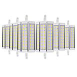 Недорогие -YWXLIGHT® 6шт 8 Вт. 700-800 lm R7S LED лампы типа Корн 48 светодиоды SMD 5730 Тёплый белый Холодный белый 110-130V 220-240V