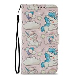 cheap -Case For Xiaomi Redmi 5 Redmi 5 Plus Card Holder Wallet with Stand Flip Magnetic Full Body Cases Unicorn Hard PU Leather for Xiaomi Redmi