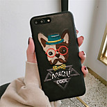 cheap -Case For Apple iPhone X iPhone 7 Plus Pattern Back Cover Cartoon Hard PU Leather for iPhone X iPhone 8 Plus iPhone 8 iPhone 7 Plus iPhone
