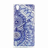 cheap -Case For Sony Xperia XA Xperia L1 Pattern Back Cover Flower Soft TPU for Xperia XZ1 Compact Sony Xperia XZ1 Sony Xperia XA1 Sony Xperia