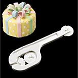 Недорогие -2pcs Новинки День рождения Вечеринка Пластик Высокое качество Креатив Инструмент выпечки Десертные инструменты торт Cutter