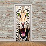 Недорогие -Животные 3D Наклейки Простые наклейки 3D наклейки Декоративные наклейки на стены Дверные наклейки, Винил Украшение дома Наклейка на стену