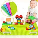 cheap -Big Size Blocks Base Plate 32*16 Dots 51*25.5 cm Baseplate Interlocking Blocks Toy Toys Envelope / Rectangular Family High Quality New
