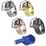 preiswerte -Uhrenarmband für Apple Watch Series 3 / 2 / 1 Apple Klassische Schnalle Edelstahl Plastic Handschlaufe