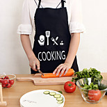 cheap -High Quality 1pc Linen/Cotton Apron High Quality, Kitchen Cleaning Supplies