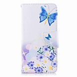 cheap -Case For Huawei P9 lite mini P8 Lite (2017) Card Holder Wallet with Stand Flip Pattern Full Body Cases Butterfly Hard PU Leather for P10