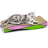 Недорогие -Кошка Игрушка для котов Игрушки для животных Когтеточка Разные цвета Когтеточка Способствует похудению Игрушка / приманка для котов
