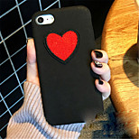 cheap -Case For Apple iPhone X iPhone 7 Plus Pattern Back Cover Heart Hard PC for iPhone X iPhone 8 Plus iPhone 8 iPhone 7 Plus iPhone 7 iPhone
