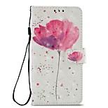 preiswerte -Hülle Für Xiaomi Redmi 5 Redmi 5 Plus Kreditkartenfächer Geldbeutel mit Halterung Flipbare Hülle Magnetisch Ganzkörper-Gehäuse Blume Hart