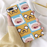 cheap -Case For Apple iPhone 6 Plus iPhone 7 Plus Pattern Back Cover Cartoon Hard PC for iPhone 8 Plus iPhone 8 iPhone 7 Plus iPhone 7 iPhone 6s