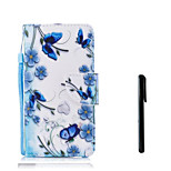 cheap -Case For Huawei P10 Plus P10 Lite Card Holder Wallet Flip Full Body Cases Butterfly Flower Hard PU Leather for P10 Plus P10 Lite P10