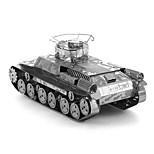 Недорогие -3D пазлы Креатив Фокусная игрушка Ручная работа Армия Подставка Игрушки Танк Подарок