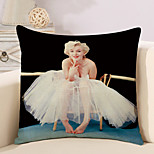 cheap -1 pcs Cotton/Linen Pillow Case Novelty Pillow Pillow Cover, Retro Classic Novelty Artistic New Arrival