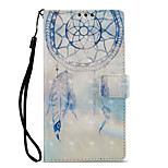 cheap -Case For Sony Xperia L2 Xperia XZ2 Card Holder Wallet with Stand Flip Pattern Full Body Cases Dream Catcher Hard PU Leather for Xperia