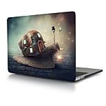 """Недорогие -MacBook Кейс для Креатив пластик Новый MacBook Pro 15"""" / Новый MacBook Pro 13"""" / MacBook Pro, 15 дюймов"""