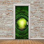 Недорогие -Пейзаж Арабеска Наклейки Простые наклейки 3D наклейки Декоративные наклейки на стены Дверные наклейки, Винил Украшение дома Наклейка на