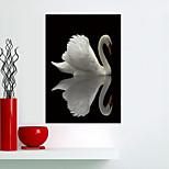 Недорогие -Животные Наклейки Простые наклейки 3D наклейки Наклейки для животных Декоративные наклейки на стены Напольные наклейки, Винил Украшение