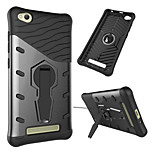 cheap -Case For Xiaomi Redmi 4a Shockproof with Stand Back Cover Armor Hard PC for Xiaomi Redmi 4A