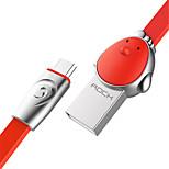 Недорогие -Micro USB Адаптер USB-кабеля Быстрая зарядка Высокая скорость Кабель Назначение Samsung Huawei Xiaomi 100 cm сплав цинка TPE