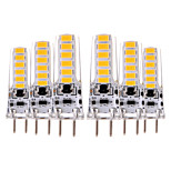 cheap -YWXLIGHT® 6pcs 4W 300-400 lm GY6.35 LED Bi-pin Lights T 12 leds SMD 5730 Decorative Warm White Cold White AC 12V DC 12-24V