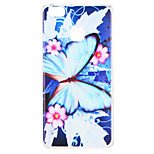 cheap -Case For Huawei P9 P8 Lite (2017) Pattern Back Cover Butterfly Flower Soft TPU for Huawei P9 Lite Huawei P9 P8 Lite (2017) Huawei P8 Lite