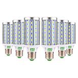 abordables -YWXLIGHT® 6pcs 25W 2000-2500 lm E26/E27 Ampoules Maïs LED T 72 diodes électroluminescentes SMD 5730 Décorative Blanc Chaud Blanc Froid AC