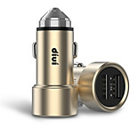 Недорогие -Автомобильное зарядное устройство Телефон USB-зарядное устройство USB Несколько разъемов КК 2.0 2 USB порта 3.1A DC 12V-24V