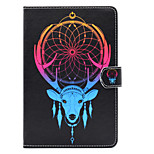 cheap -Case For Apple iPad Air 2 iPad 10.5 Card Holder Shockproof with Stand Flip Auto Sleep/Wake Up Full Body Cases Dream Catcher Hard PU