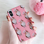 cheap -Case For Apple iPhone X iPhone 7 Plus Pattern Back Cover Cat Hard PC for iPhone X iPhone 8 Plus iPhone 8 iPhone 7 Plus iPhone 7 iPhone 6s