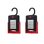 Недорогие -2pcs LED Night Light Белый Аккумуляторы AAA Безопасность Простота транспортировки Экстренная ситуация <5V