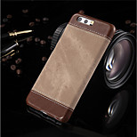 cheap -Case For Huawei P10 Plus P10 Shockproof Back Cover Solid Color Hard PU Leather for P10 Plus P10 Huawei P9 Lite Huawei P9 Huawei P8 Lite