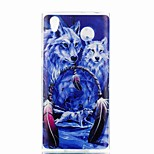 Недорогие -Кейс для Назначение Sony Xperia XA Xperia L1 С узором Кейс на заднюю панель Животное Мягкий ТПУ для Xperia XZ1 Compact Sony Xperia XZ1
