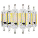 preiswerte -YWXLIGHT® 6pcs 6W 500-600 lm R7S LED Mais-Birnen 60 Leds SMD 2835 Warmes Weiß Kühles Weiß 110-130 V. 220V-240V