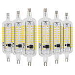 abordables -YWXLIGHT® 6pcs 6W 500-600 lm R7S Bombillas LED de Mazorca 60 leds SMD 2835 Blanco Cálido Blanco Fresco 110-130V 220-240V