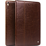 cheap -Case For Apple iPad 10.5 Shockproof with Stand Flip Full Body Cases Solid Color Hard Genuine Leather for iPad Pro 10.5 (2017)