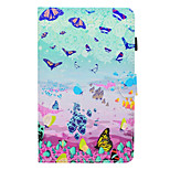 cheap -Case For Amazon Kindle Fire hd 7.0 Card Holder Shockproof with Stand Flip Full Body Cases Butterfly Hard PU Leather for Kindle Fire hd 7.0