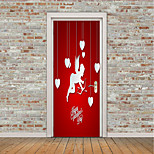 cheap -Hearts Fairies Wall Stickers Plane Wall Stickers 3D Wall Stickers Decorative Wall Stickers Door Stickers, Vinyl Home Decoration Wall Decal