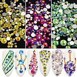 Недорогие -7 Блеск Украшения для ногтей Украшенный драгоценностями Аксессуар Бижутерия Дизайн ногтей Сделай-сам