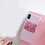 economico -Custodia Per Apple iPhone X iPhone 7 Plus Fantasia/disegno Per retro Cartoni animati Resistente PC per iPhone X iPhone 8 Plus iPhone 8